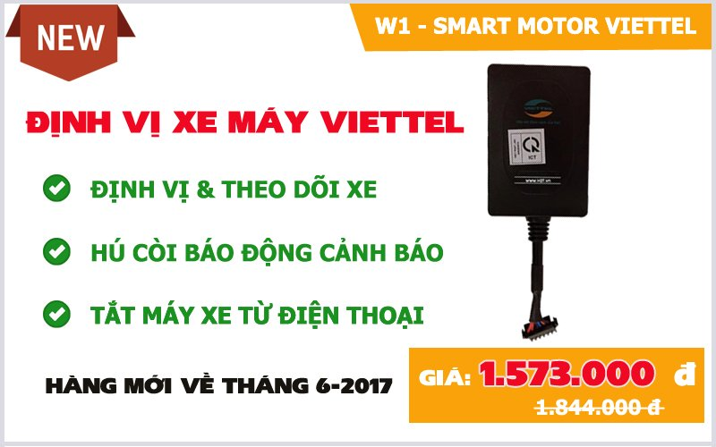dinh vi xe may viettel 2018